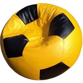Кресло-мешок Мяч Стандарт желто-черное