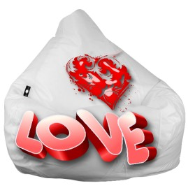 """Кресло-мешок груша """"Love"""""""