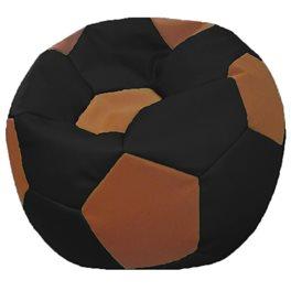 Кресло-мешок Мяч Стандарт коричнево-черное