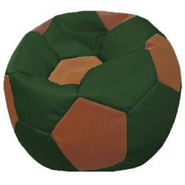 Кресло-мешок Мяч Стандарт коричнево-зеленое