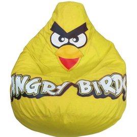 Живое кресло Птичка желтая