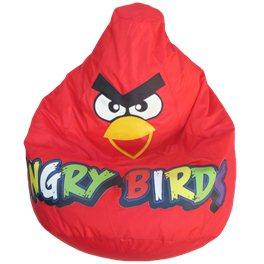 Кресло-мешок Красная Птичка(цветные буквы)