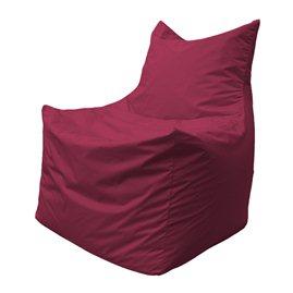 Бескаркасное кресло мешок Фокс Ф2.1-16 (Бордовый)