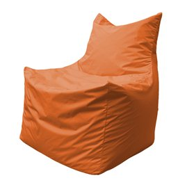 Бескаркасное кресло мешок Фокс Ф2.1-10 (Оранжевый)