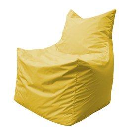 Бескаркасное кресло мешок Фокс Ф2.1-07 (Жёлтый)