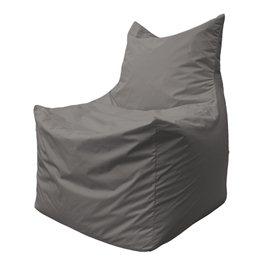 Бескаркасное кресло мешок Фокс Ф2.1-12 (светло-серый)