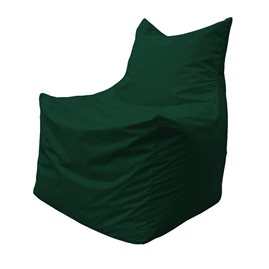 Бескаркасное кресло мешок Фокс Ф2.1-05 (темно-зеленый)