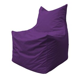 Бескаркасное кресло мешок Фокс Ф2.2-12 (фиолетовый)