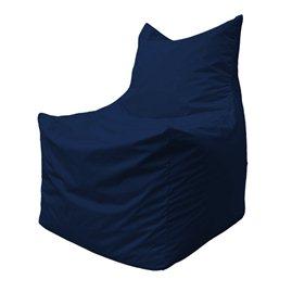 Бескаркасное кресло мешок Фокс Ф2.1-14 (темно-синий)