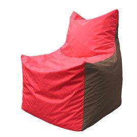 Кресло-мешок Фокс Ф 21-177 (красно-коричневый)