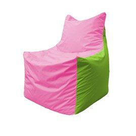 Кресло-мешок Фокс Ф 21-197 (розово-салатовый)