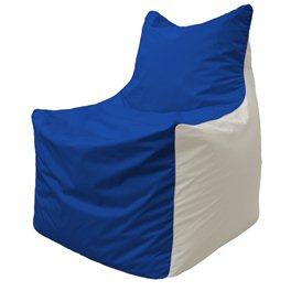 Кресло-мешок Фокс Ф 21-125 (василёк - белый)