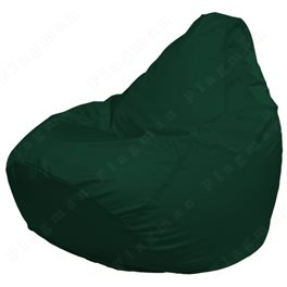 Кресло-мешок Груша Макси темно-зеленое