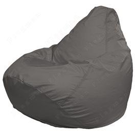 Кресло-мешок Груша Макси светло-серое