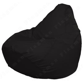 Кресло-мешок Груша Макси чёрное