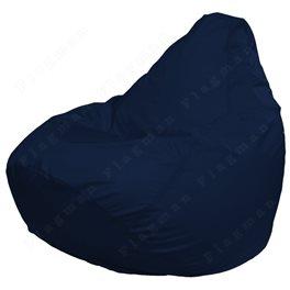 Кресло-мешок Груша Макси темно-синее