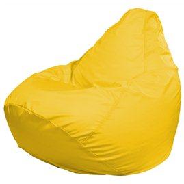 Кресло-мешок груша Мега жёлтая дюспо