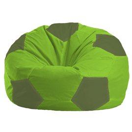 Бескаркасное кресло-мешок Мяч салатово - оливковое 1.1-164
