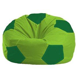Бескаркасное кресло-мешок Мяч салатово - зелёное 1.1-166