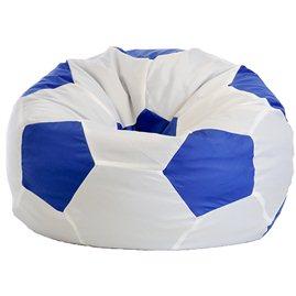"Кресло-мешок ""Мяч Стандарт"" бело-синее"