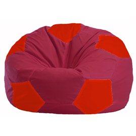 Кресло-мешок Мяч бордовый - красный М 1.1-308