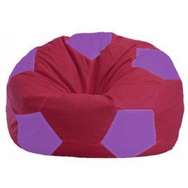 Кресло-мешок Мяч бордовый - сиреневый М 1.1-302