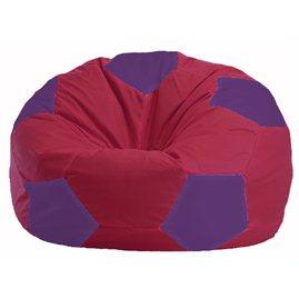 Кресло-мешок Мяч бордовый - фиолетовый М 1.1-453