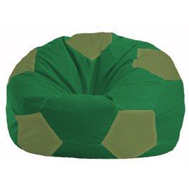 Кресло-мешок Мяч зелёный - оливковый М 1.1-462
