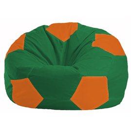 Кресло-мешок Мяч зелёный - оранжевый М 1.1-464