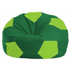 Кресло-мешок Мяч зелёный - салатовый М 1.1-241