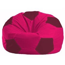 Кресло-мешок Мяч малиновый - бордовый М 1.1-384