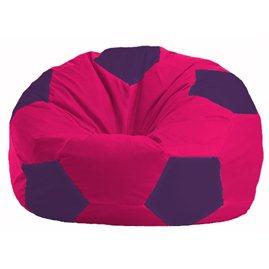 Кресло-мешок Мяч малиновый - фиолетовый М 1.1-380