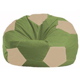 Кресло-мешок Мяч оливковый - светло-бежевый М 1.1-223