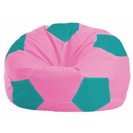 Кресло-мешок Мяч розовый - бирюзовый М 1.1-204