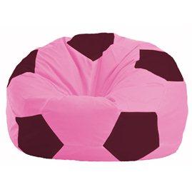Кресло-мешок Мяч розовый - бордовый М 1.1-203