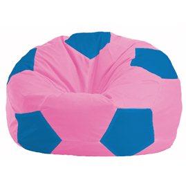 Кресло-мешок Мяч розовый - голубой М 1.1-202