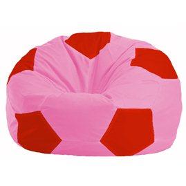 Кресло-мешок Мяч розовый - красный М 1.1-199