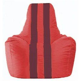 Кресло-мешок Спортинг красный - бордовый С1.1-180