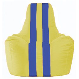 Кресло-мешок Спортинг жёлтый - синий С1.1-254