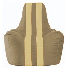 Кресло-мешок Спортинг бежевый - светло-бежевый С1.1-87