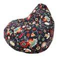 Кресло-мешок Груша Цветочное