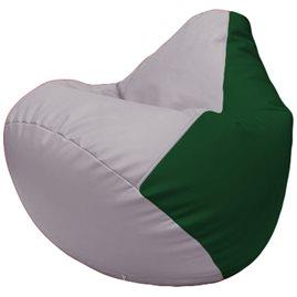 Кресло-мешок Груша Г2.3-2501 сиреневый, зелёный