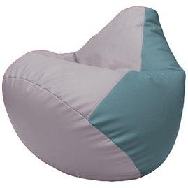 Кресло-мешок Груша Г2.3-2536 сиреневый, голубой