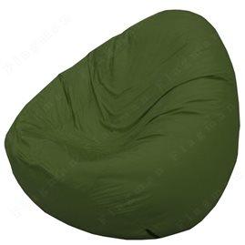 Бескаркасное кресло-мешок Груша Мини тёмно-оливковый