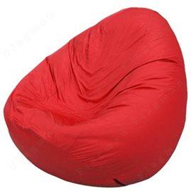 Бескаркасное кресло-мешок Груша Мини красное