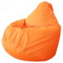 Бескаркасное кресло-мешок Груша Оранжевое Г2.7-08