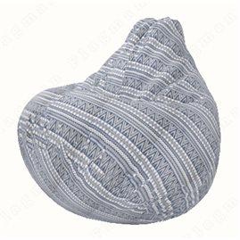 Бескаркасное кресло-мешок Груша Г2.8-01