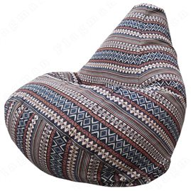 Бескаркасное кресло-мешок Груша Г2.8-02