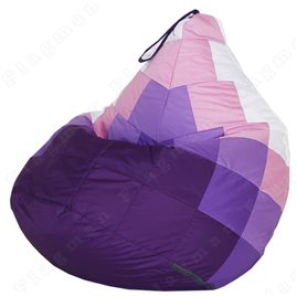 Бескаркасное кресло-мешок Груша Candy crazy