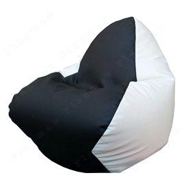 Бескаркасное кресло-мешок RELAX чёрно-белое